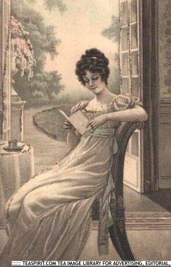 regency lady reading(1)