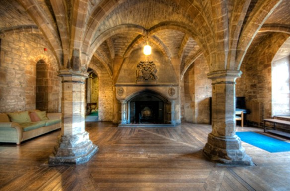 newbattle abbey-crypt