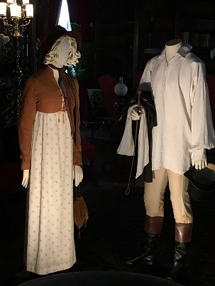 kathy bone-Mr. Darcy's and Elizabeth's costumes in Pride & Prejudice