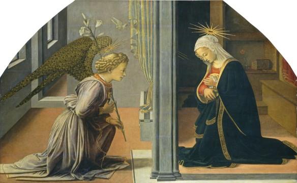 Lippi-Annunciation