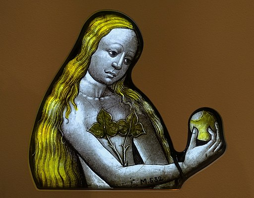 Eve,_Cologne,_c._1450-1460,_stained_glass_-_Museum_Schnütgen_-_Cologne,_Germany_-_DSC00248